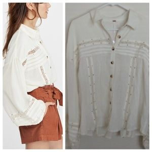 'Summer Stars' Button Down NWT (Free People)